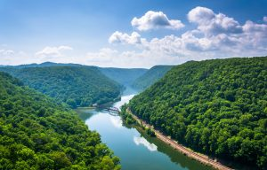Berry's Campground: Hinton, West Virginia