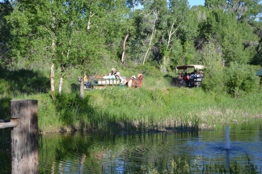 Mountain River Ranch: Ririe, Idaho - Camp Native