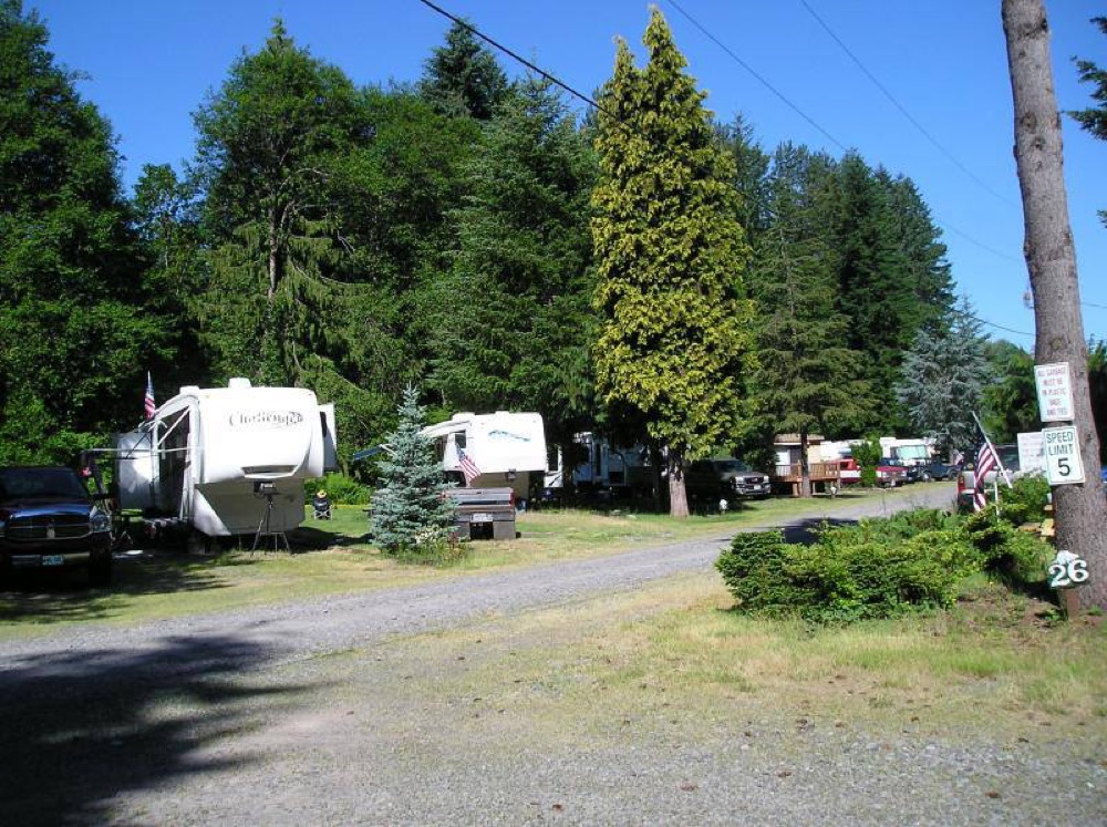 At River Mountain RV Park Campers Can Choose From 24 Full Hookup Sites Lovely Tent Along The Or Comfortable Cabins And Trailers