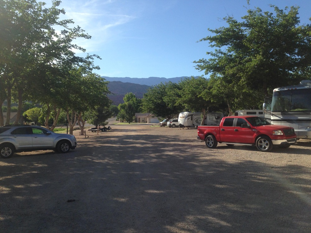 Guests have access to clean restrooms and hot showers laundry facilities a dog area drinkable water and free WiFi. Easy ATV riding and hiking are ... & Zion West RV Park: Leeds Utah - Camp Native