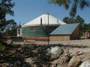 The YURT at Screwball Ranch: Cedaredge, Colorado