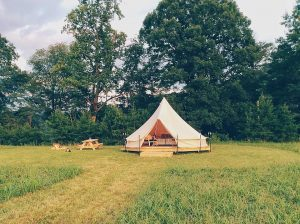 Paint Rock Farm Glamping Retreat: Hot Springs, North Carolina